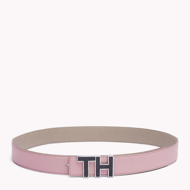 Leather Buckle Belt #Pink #Spring16 #TommyHilfiger   ACCESSORIES S17    Pinterest   Leather buckle, Leather and Tommy hilfiger