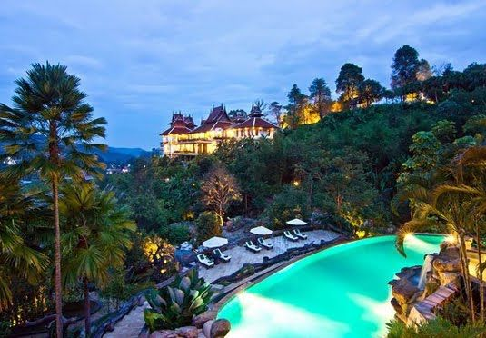 Panviman Chiang Mai Spa Resort, Thailand - A majestic spa resort in the lush Thai mountains - includes spa vouchers, spa discounts and the option to stay in your own private pool villa
