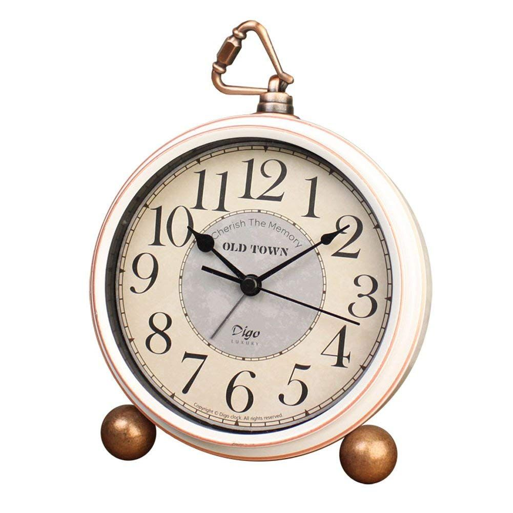 Amazon Com 5 5 Silent Desk Clocks Mantel Small Decorative