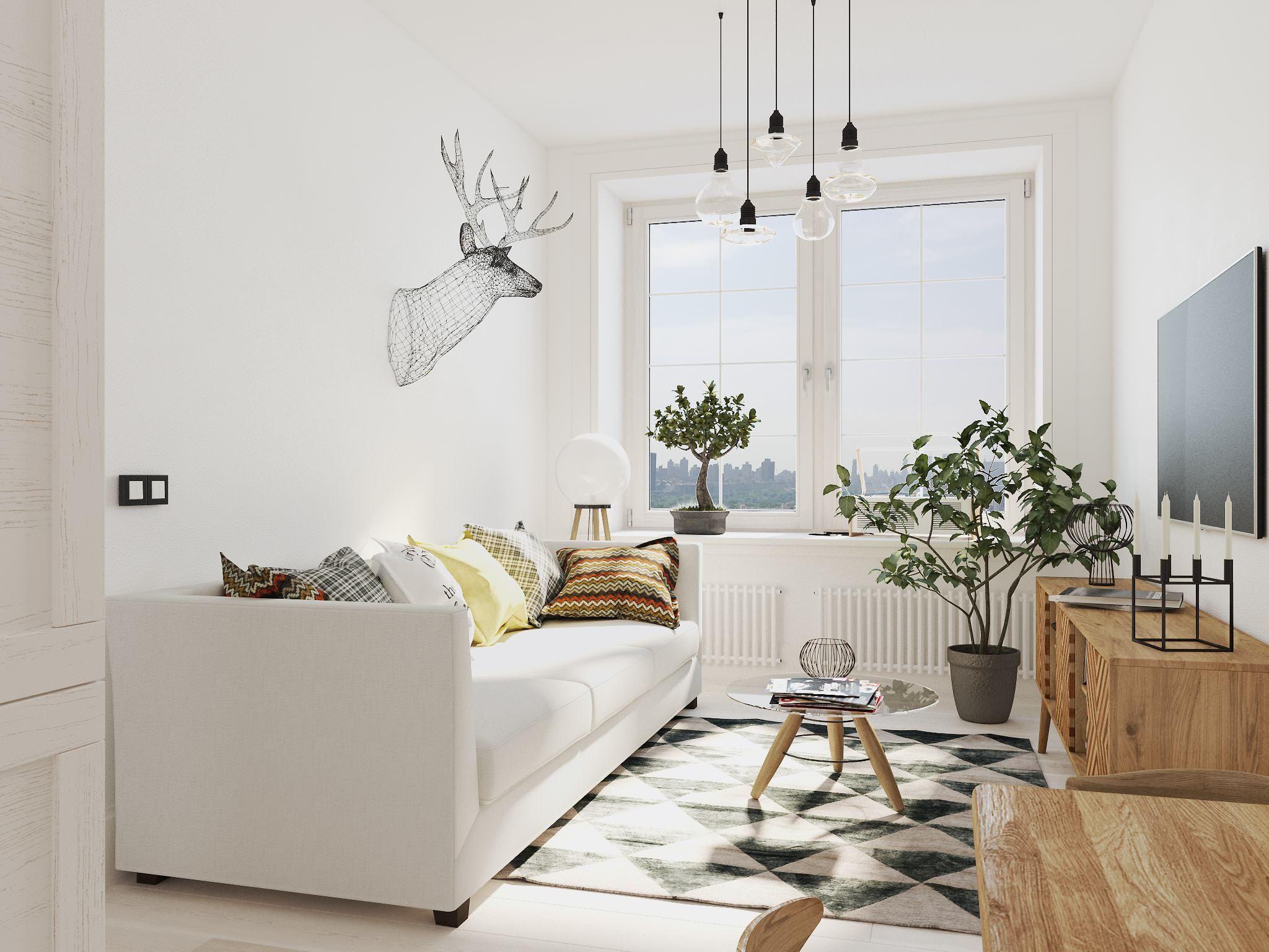 дизайн квартир в скандинавском стиле фото уже через