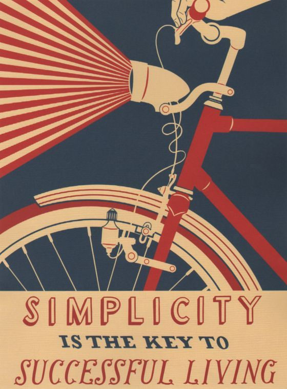 Vintage USA Travel Poster Simplicity VUSA024 Art Print A4 A3 A2 A1