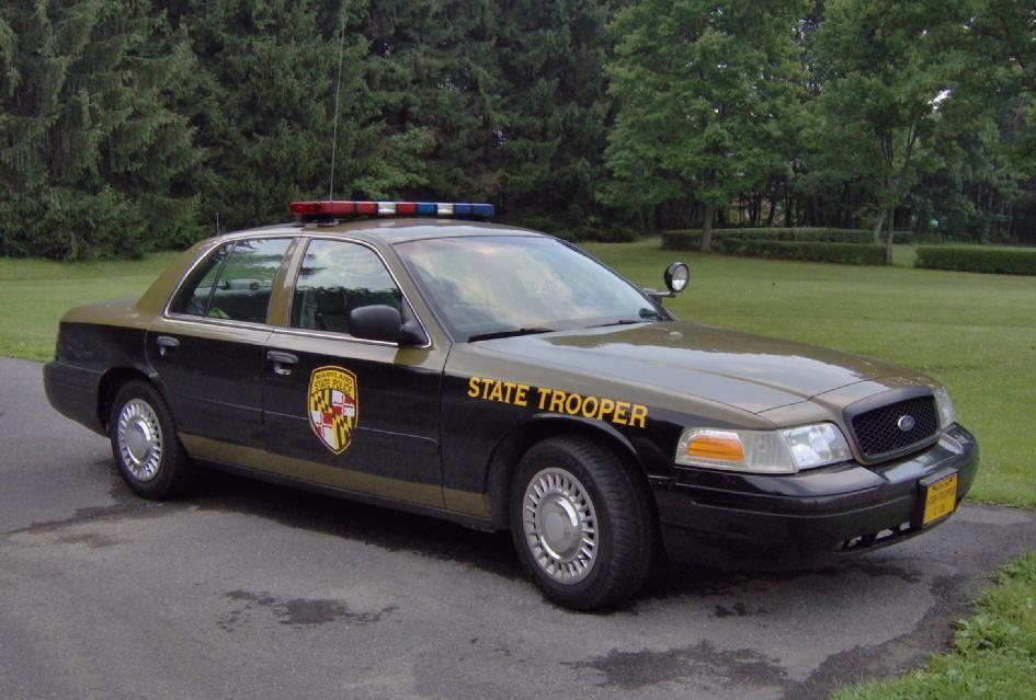 Maryland State Police Fcvpi Police Cars Us Police Car Victoria Police