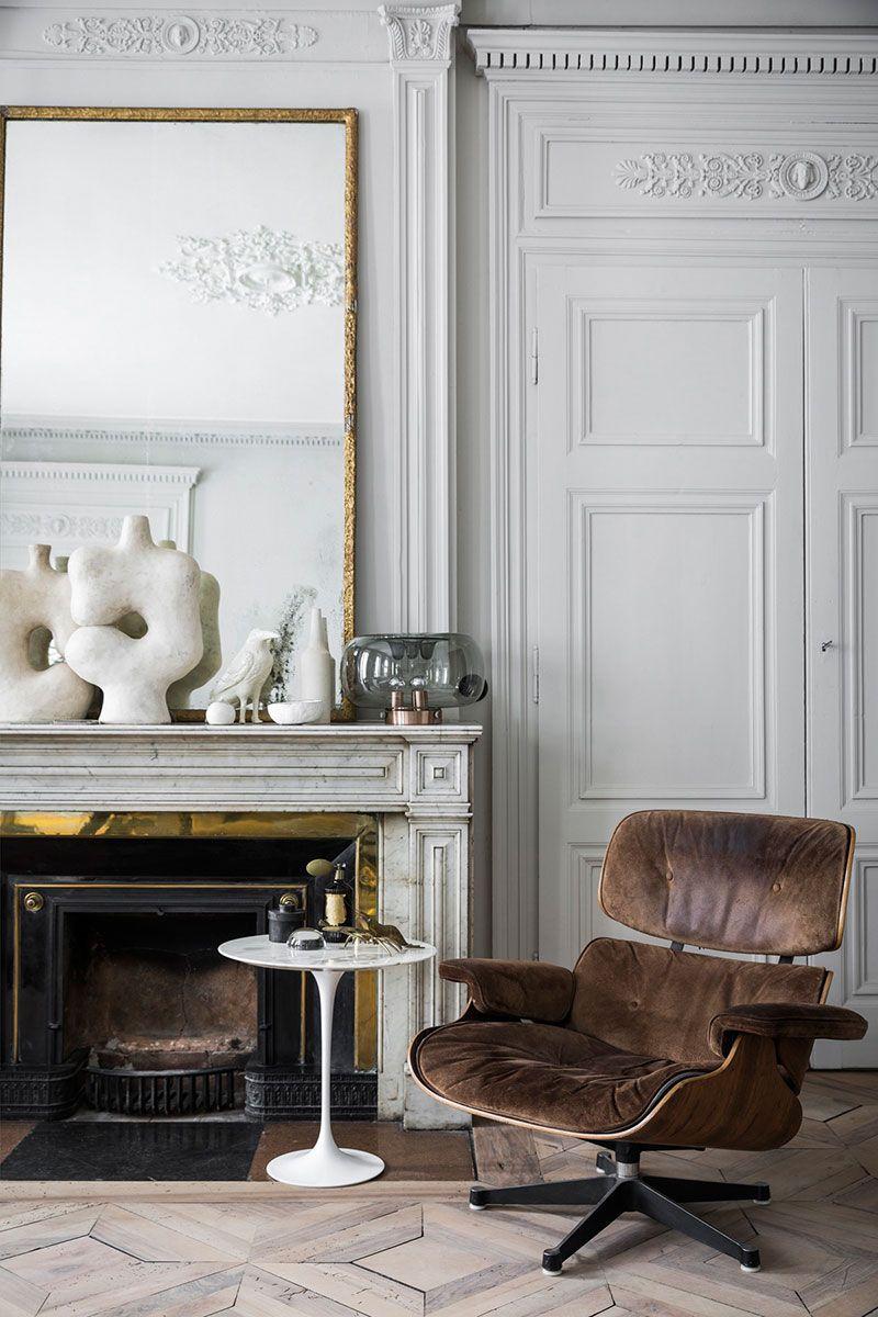 Exquisite Monochrome Apartment In Paris Photos Ideas Design In 2020 Living Room Decor Traditional Interior Interior Design #update #traditional #living #room