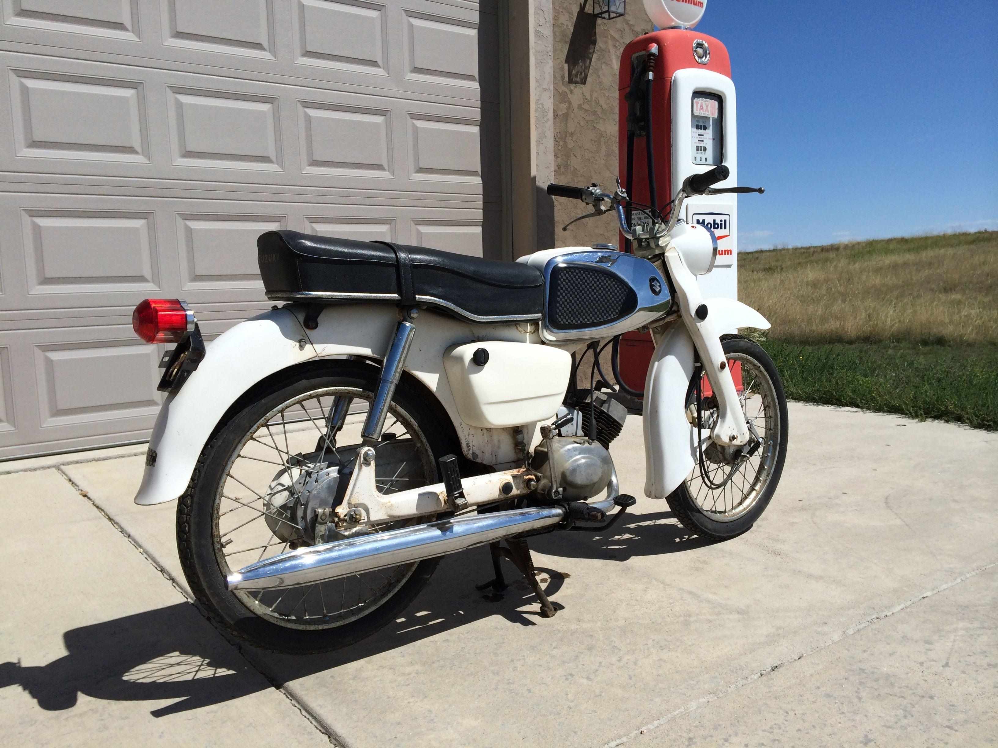 1964 Suzuki  U0026quot Collegian U0026quot  50cc Sport Standard  Model Md  4 Speed Manual Transmission  Forks Have