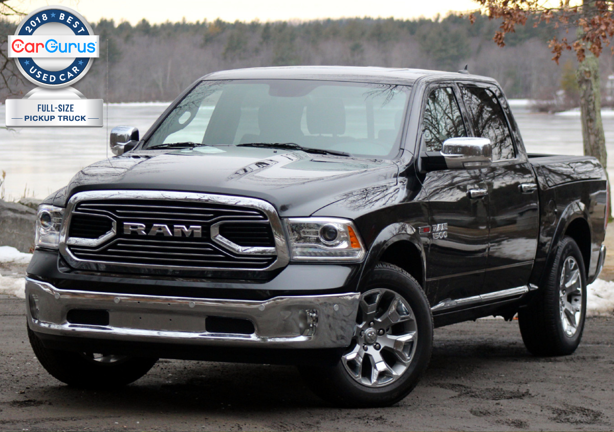 Cargurus 2018 Used Car Awards Goes To The Dodge Ram 1500 For Best