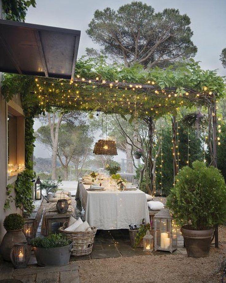 Roll On Summer Backyard Outdoor Dining Area Patio