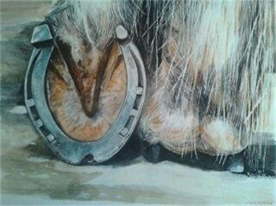 Laughlin Art Works - Farrier Art