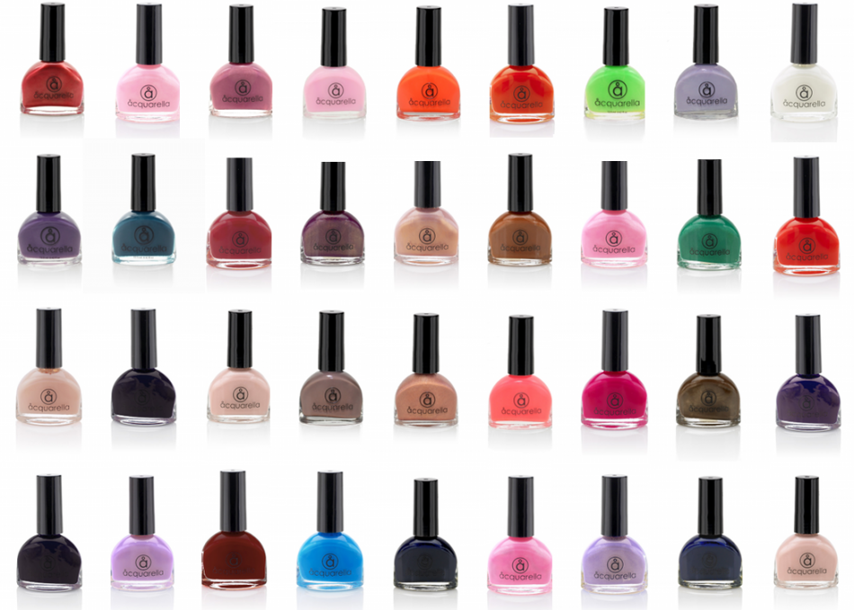 Acquarella Water Based Non-Toxic Nail Polish | Szépség | Pinterest ...
