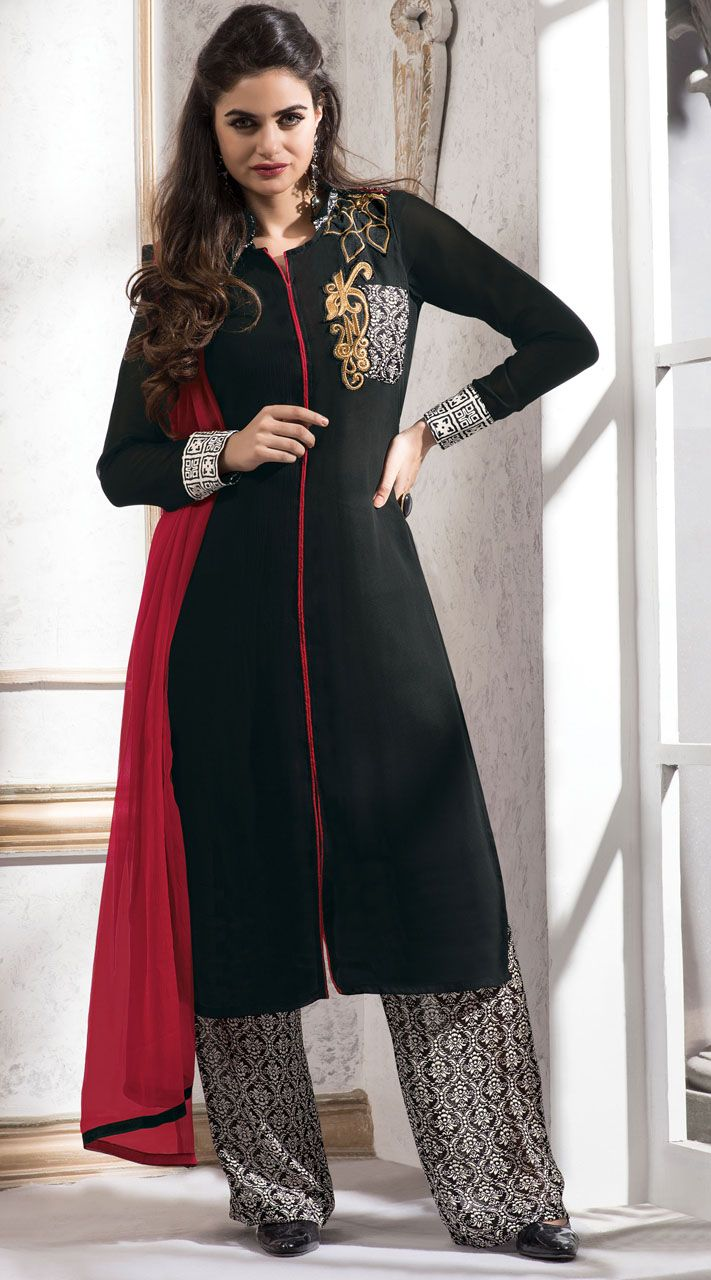 1000  images about Palazzo Pants Salwar Kameez on Pinterest