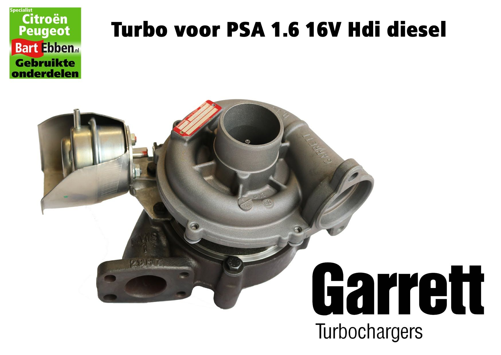 psa citroen turbo 1 6 16v hdi 9hz dv6ted4 garrett in voorraad in stock turbolader auf lager. Black Bedroom Furniture Sets. Home Design Ideas