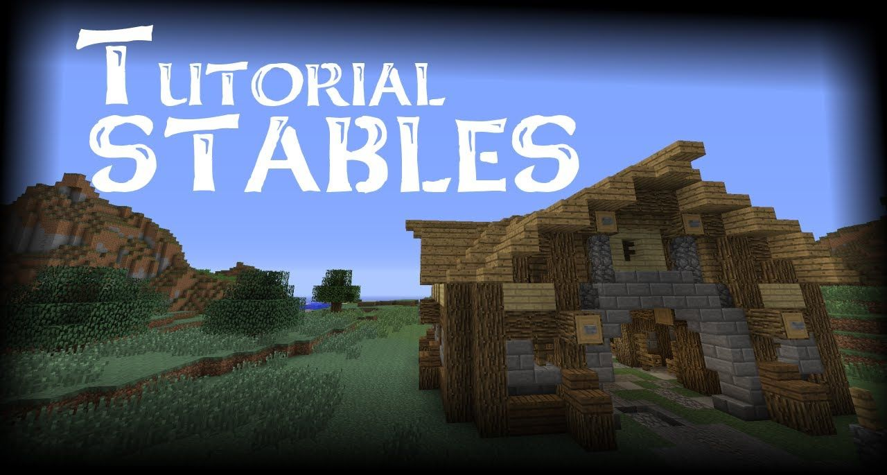 how to build a horse stable in minecraft