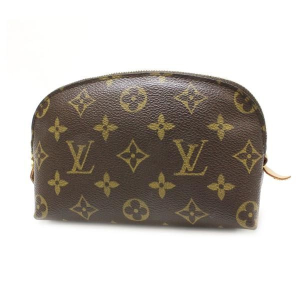 Louis Vuitton Poccette Cosmetic Monogram Small bags Brown Canvas M47515