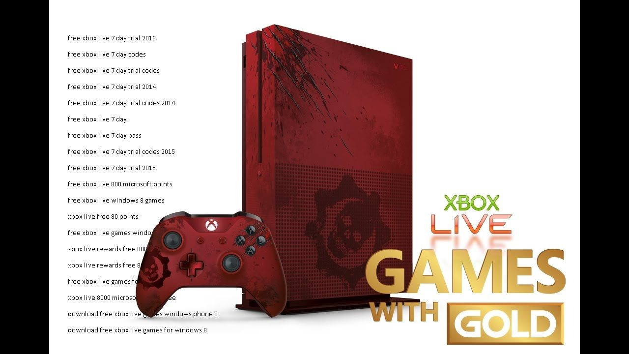 And remember xbox live gold is more than just great deals on games - How To Get Unlimited Free Xbox Live Gold Codes For Xbox 360 Xbox One