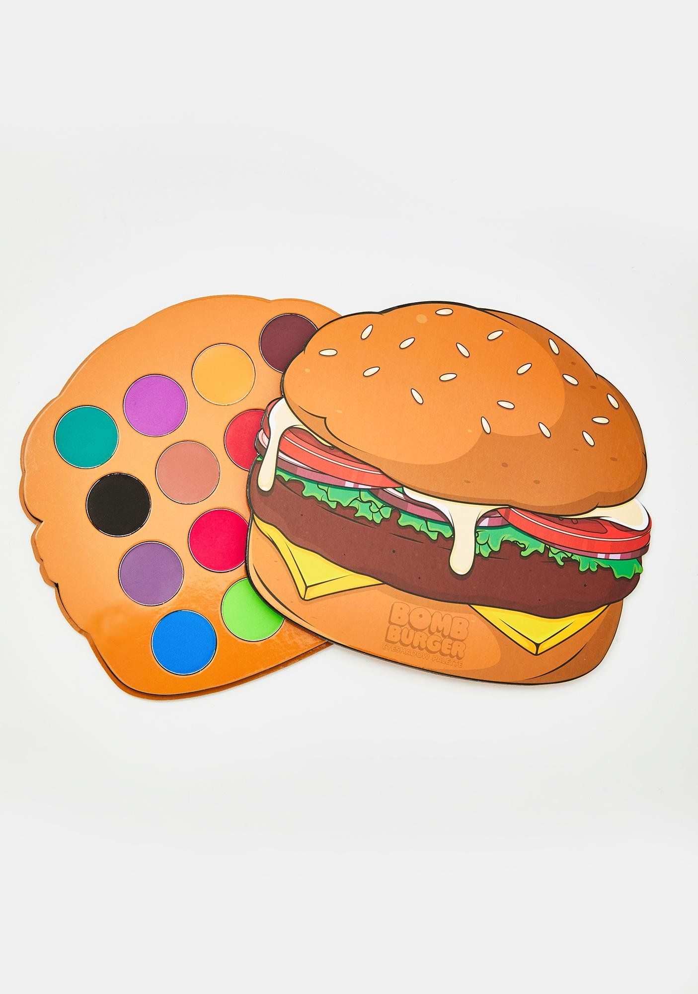 Hamburger Eyeshadow Palette
