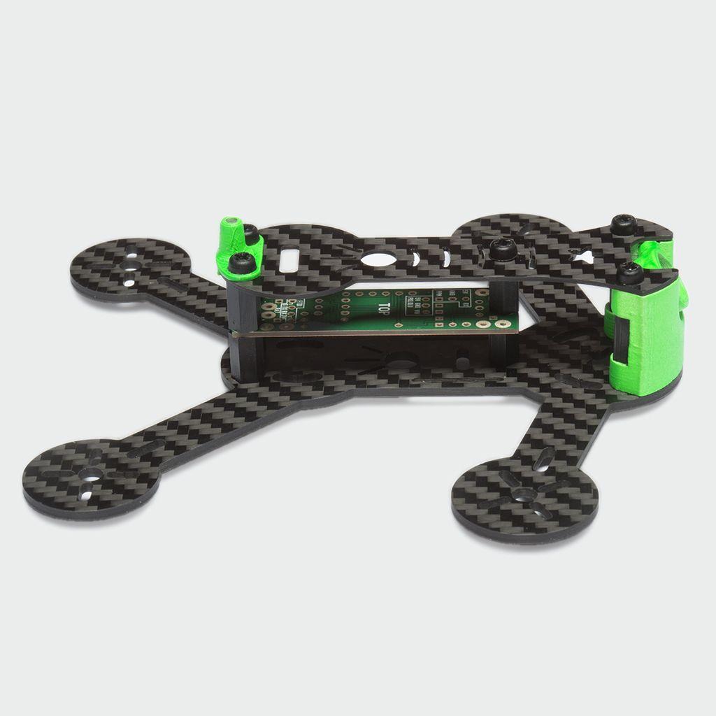 SPUTNIK SP117 FPV Micro Quad Racer Frame Kit | Indoor FPV | Pinterest