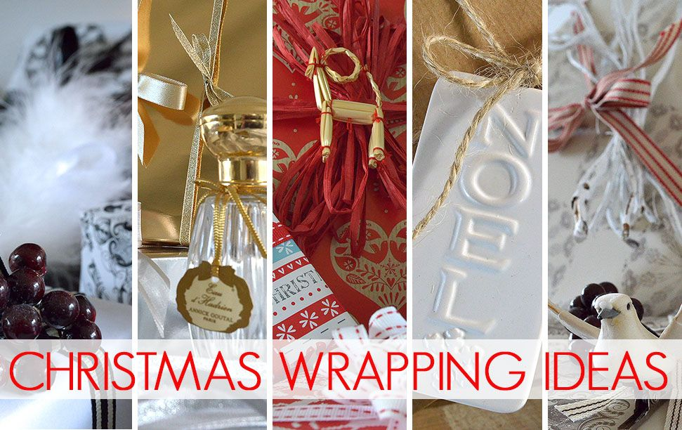 We've got Christmas all wrapped up with our tips and tricks for perfect present wrapping