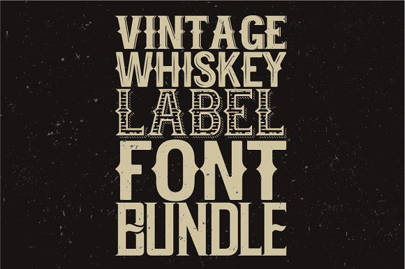Whiskey fonts BUNDLE! - Display