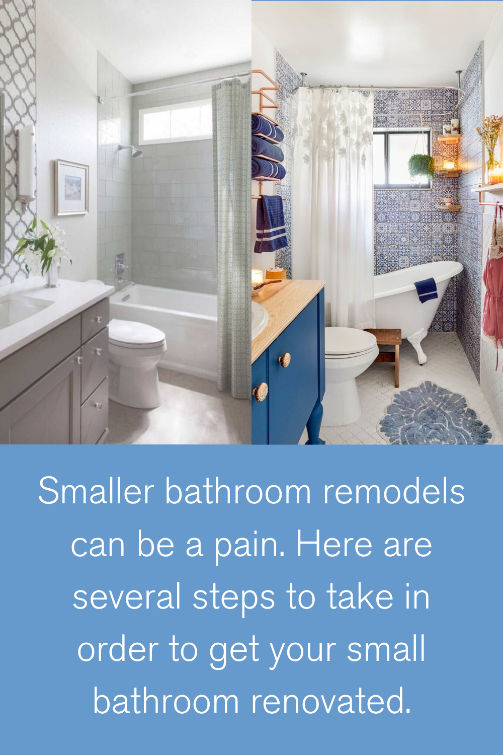 Small Bathroom Remodeling Ideas In 2020 Small Bathroom Remodel Bathrooms Remodel Small Bathroom