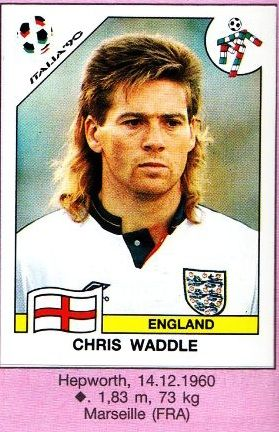 Best Mullet Ever Chris Waddle England Football Fifa