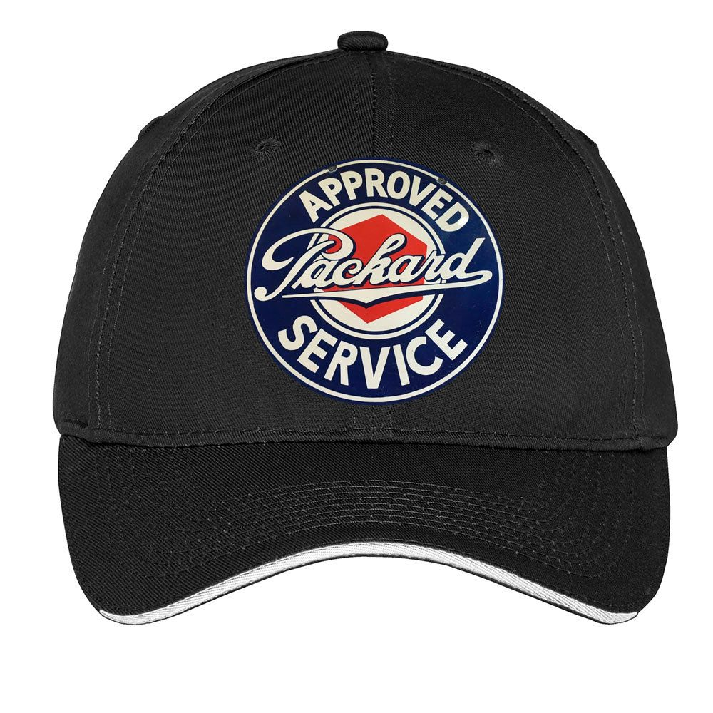 e6862454dc1 Packard Approved Service Cap Dad Hat Transportation Automobile Car Gas Oil  Vintage Style Black Red Navy Royal Gray Green by TimeofReason on Etsy