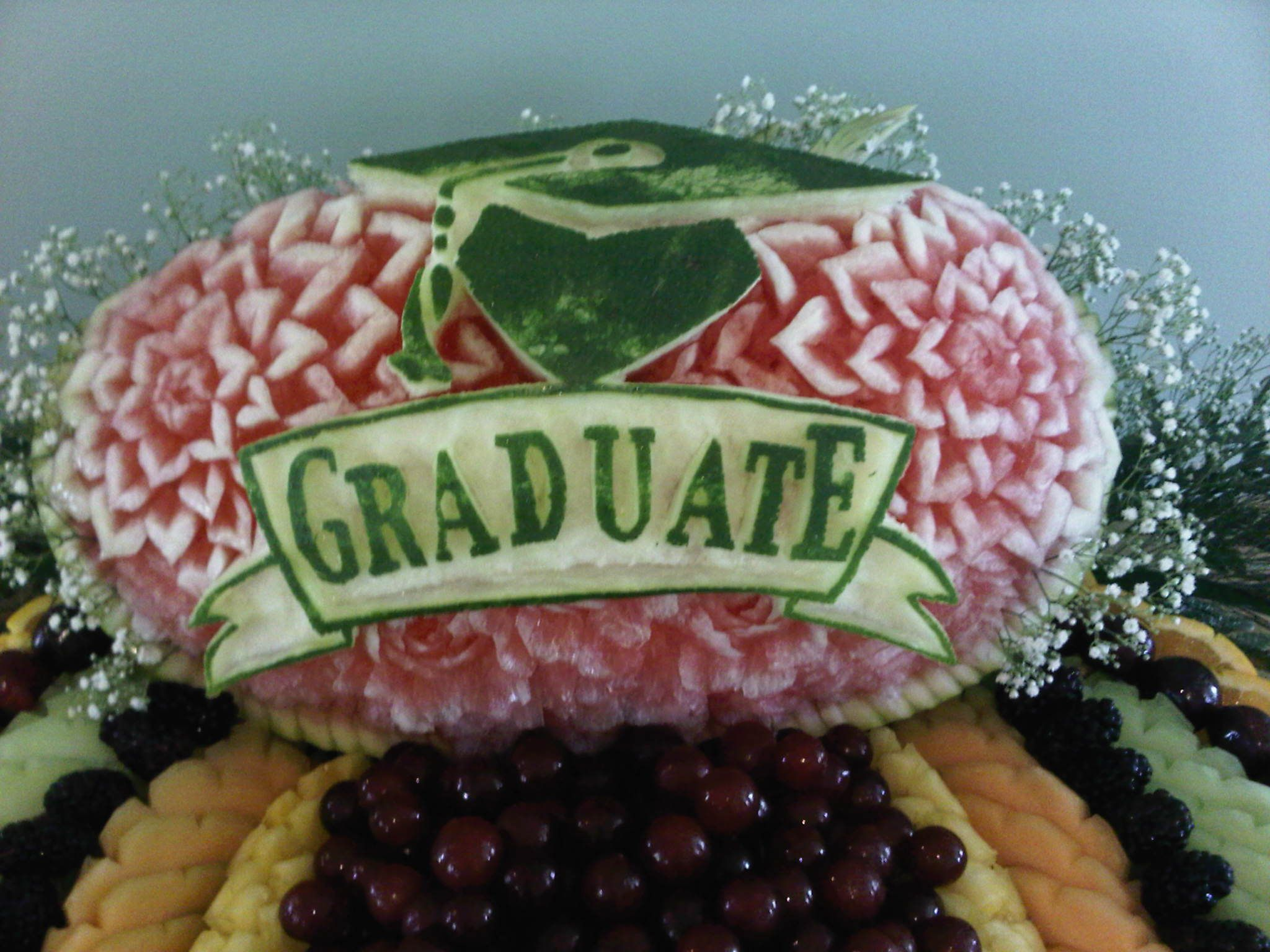 Order this watermelon for your graduation party.I can carve your ...