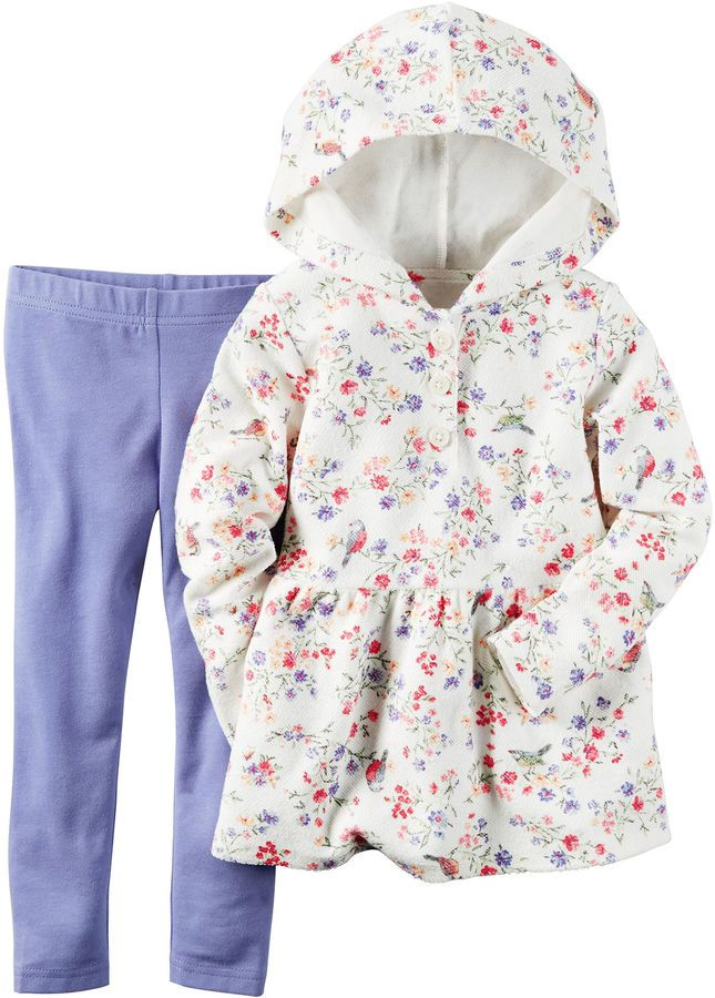 8abab88d95d90 WOW $3.99 FOR SET! CARTERS Carter's 2-pc. Pant Set Girls | JUST KIDS ...