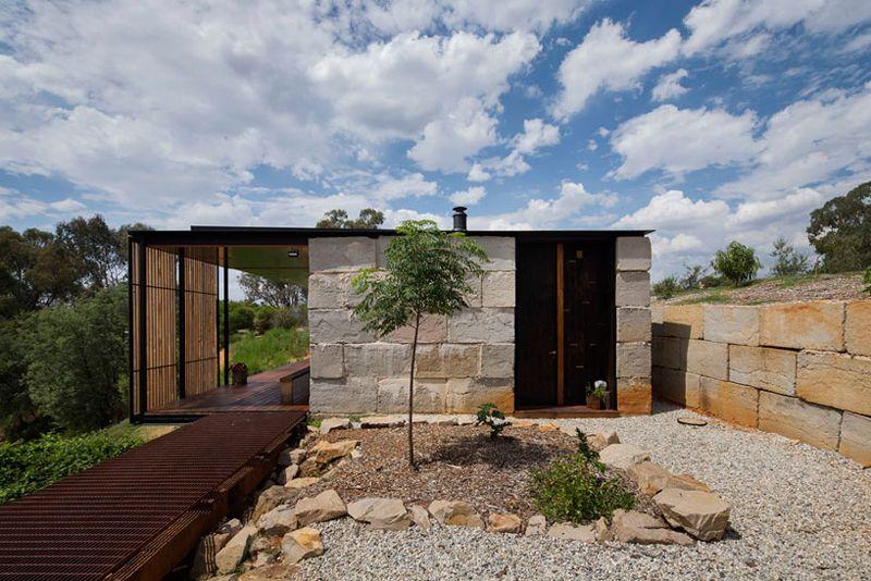 Sawmill House By Archier, Yackandandah, Australia