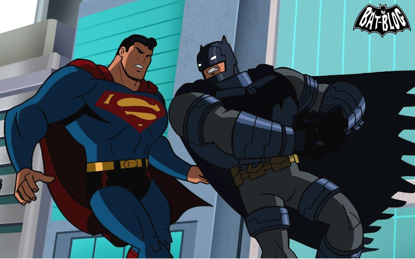 Superman On Batman The Brave And The Bold Wallpaper Backgrounds