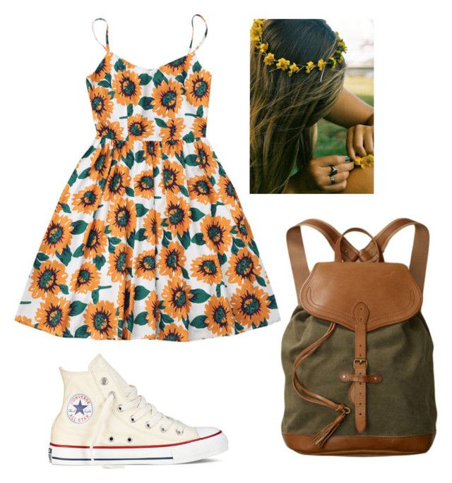 """sunshine"" by myimagez ❤ liked on Polyvore featuring Converse and Ultimate"