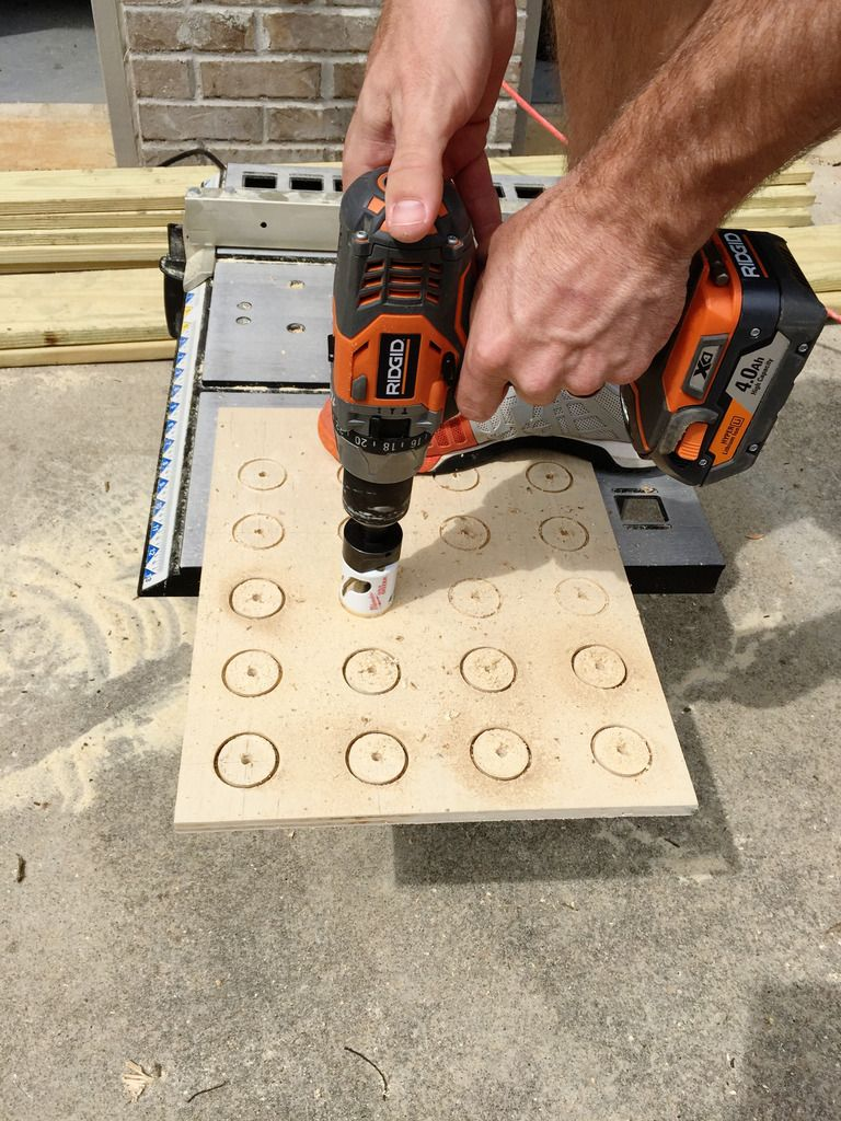 Wooden K Cup Holder DIY