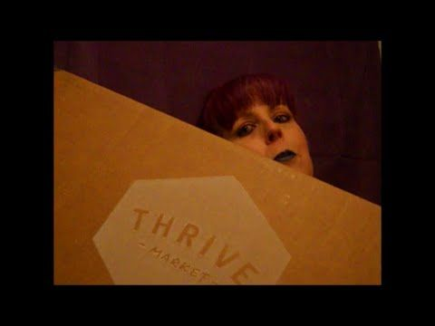 Thrive! Market Unboxing