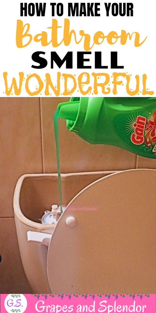 How to make your bathroom smell wonderful