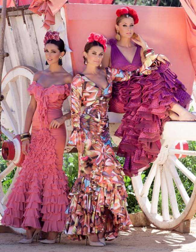 moda flamenca | Moda Flamenca | Pinterest | Moda flamenca, Flamenco ...