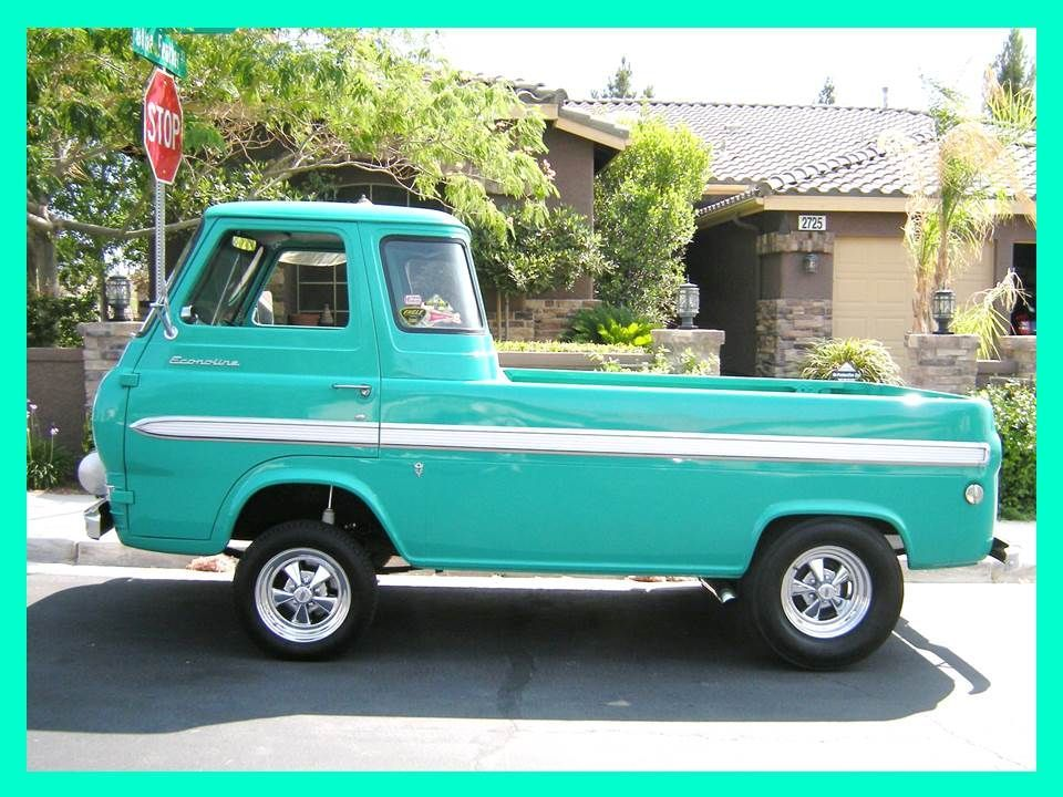 1965 Ford Econoline Gasser Style Pickup Muscle Cars For Sale