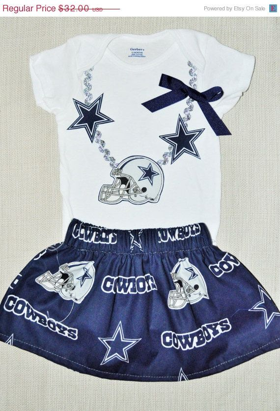 48 hour sale Rylo NFL Dallas Cowboys skirt and by RYLOwear on Etsy ... 5a918c18e
