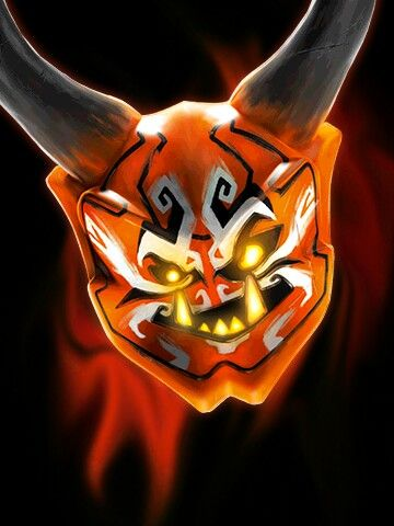Killow S Oni Mask Ninjagosonsofgarmadon Lego Ideen Bilder Oni Maske