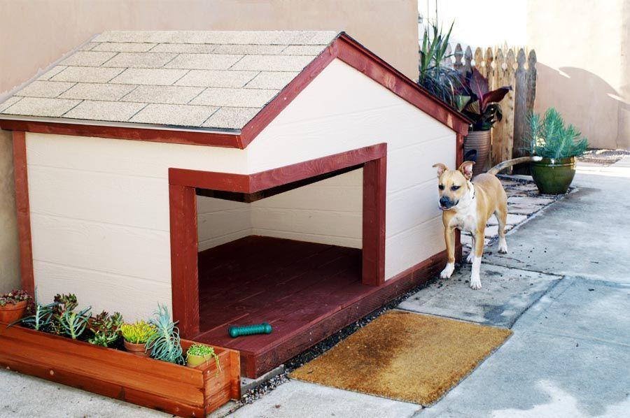 My Custom Made Dog House For My Two Dogs Design And Construction By My Brother Loren Samuel Casas Para Mascotas Casas Para Perros Grandes Casas Para Perros