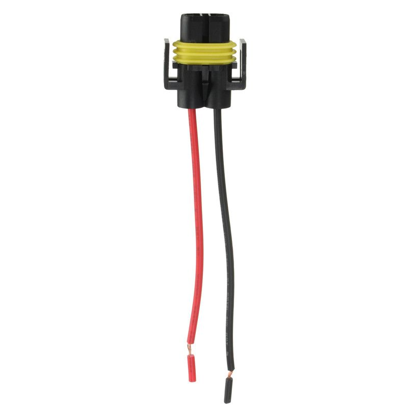 h8 h11 female adapter wiring harness socket car auto wire Auto Wire Connectors Types automotive wire connector wiring harness