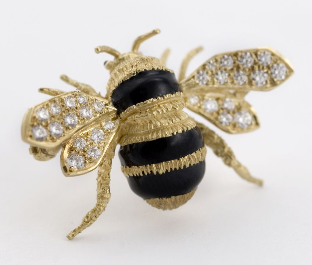 Opinion vintage bee pin not so