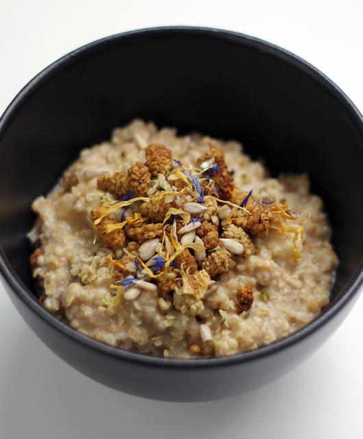 Maulbeeren Porridge