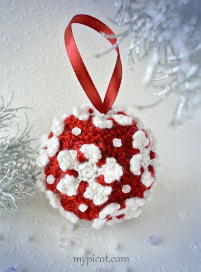 Crochet Christmas Ornaments Pinterest