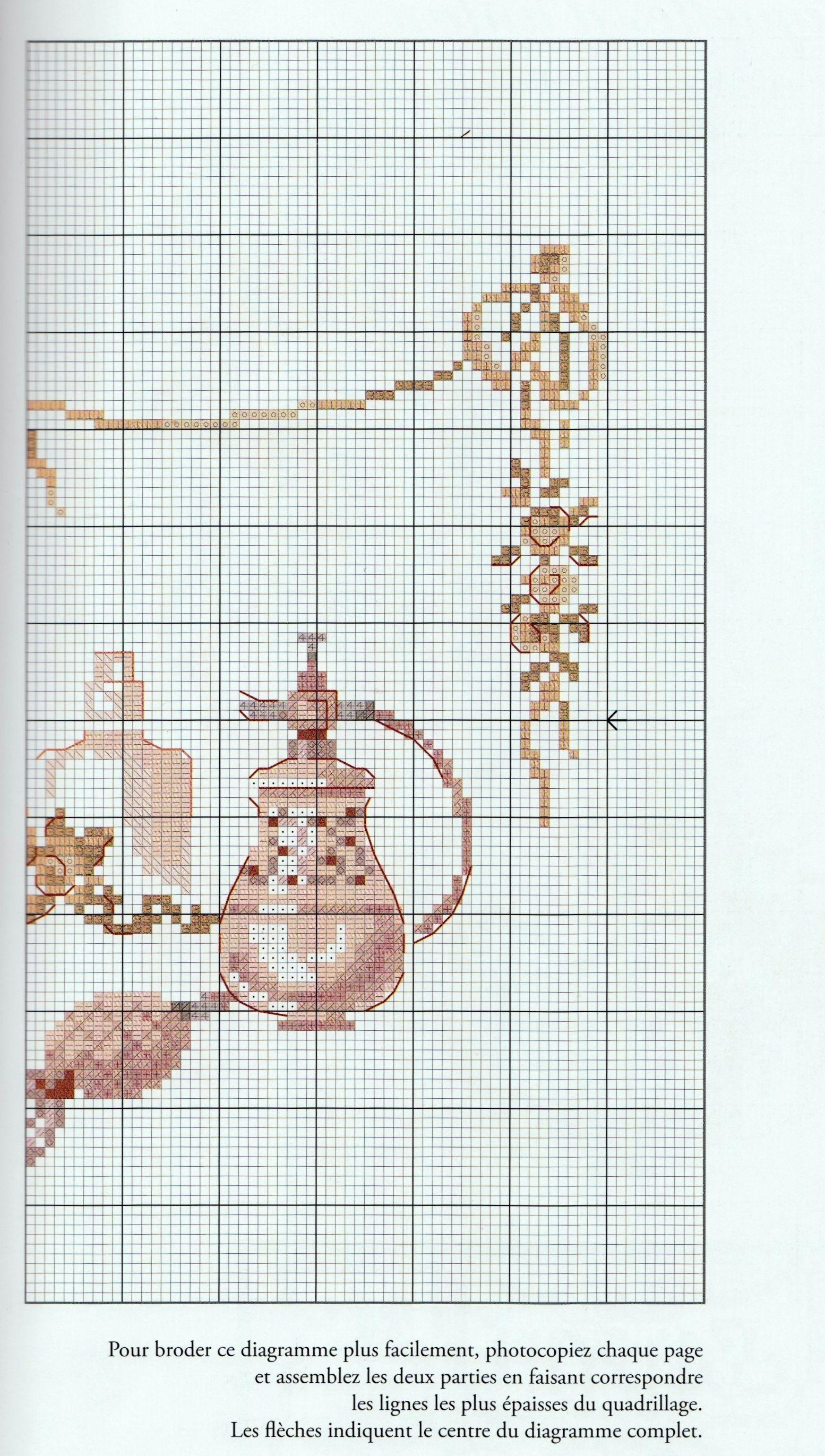 Victorian perfume bottle #2   A PUNTO CRUZ PARISINO   Pinterest ...