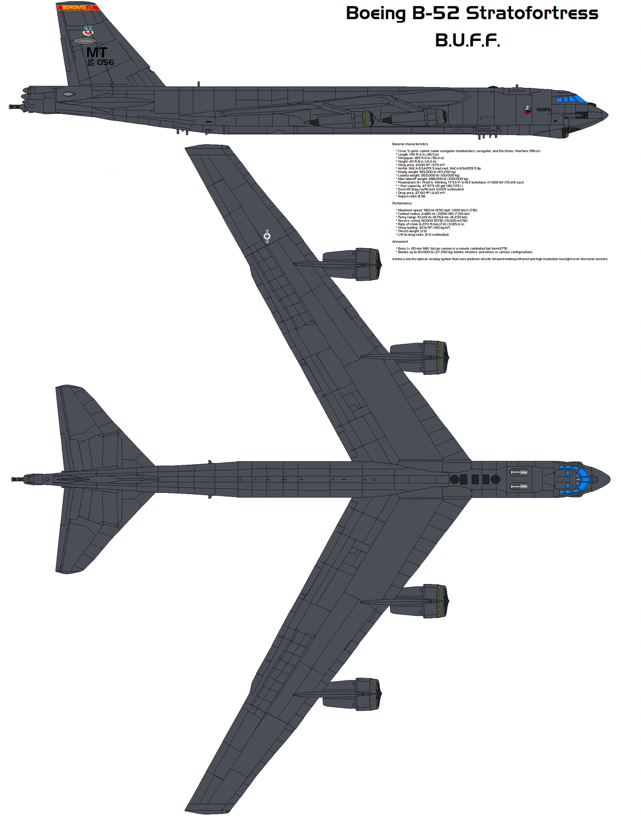 Boeing B 52 23d Bomber By Bagera3005 Boeing Aircraft B 52 Stratofortress Boeing