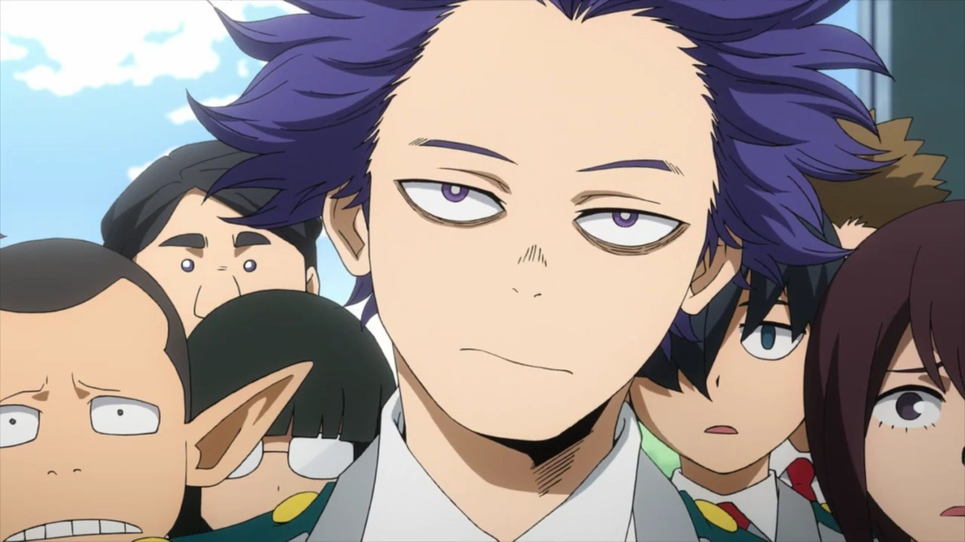 I just got result 'Hitoshi Shinso' on quiz 'Who's Your BNHA Boyfriend?'.  What will you get?   My hero, Hero, Hero academia characters