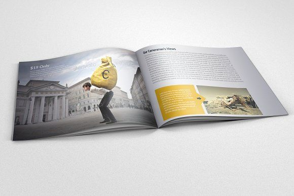 20 Pages Bi Fold Brochure Catalog Business flyers, Brochures and - flyers and brochures templates