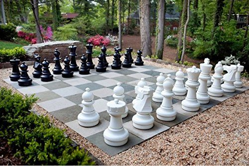 Megachess Giant Premium Chess Pieces Complete Set With 25 Https Www Amazon Com Dp B00iixbfpu Ref Cm Sw R Pi Dp Giant Chess Chess Board Lawn Games Wedding
