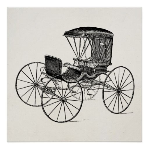 vintage carriage drawings - Google Search