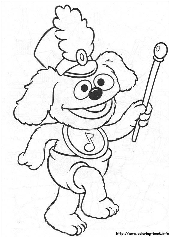 Muppet Babies coloring picture | It\'s Coloring & Activity PⒶges ...