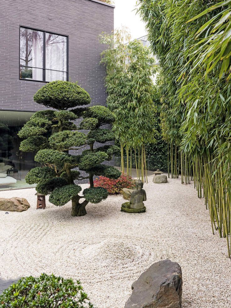 Photo of Japanese gardens are known for their overwhelming splendor. Japanese gard …