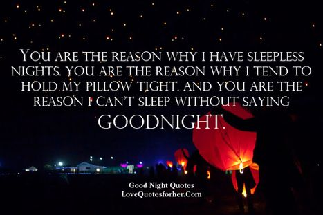 17 Best images about Goodnight quote for her❤ on Pinterest ...